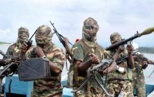 Kämpfer der Terrorgruppe Boko Haram