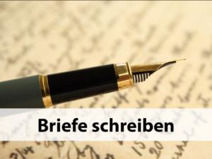 briefe-schreiben
