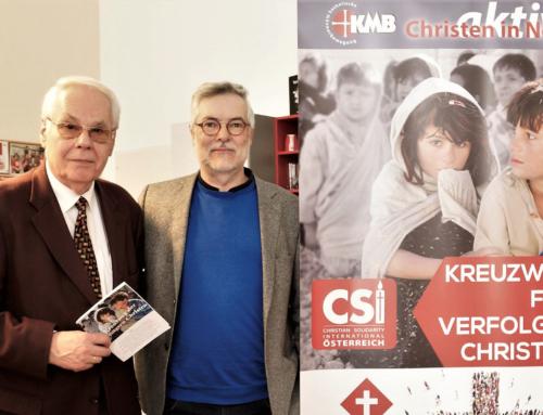CSI-Österreich und Katholische Männerbewegung (KMB) stellen gemeinsamen Kreuzweg 2019 vor