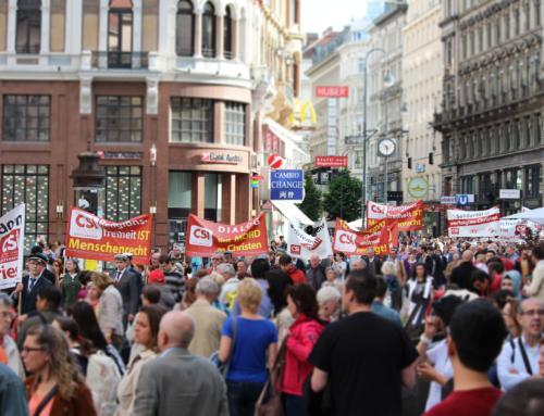 "HEUTE IN WIEN: ""Christen in Not"" Schweigemarsch 2019"